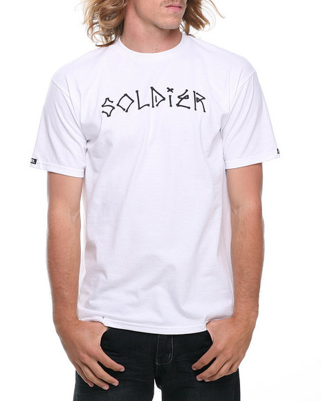 Crooks & Castles - Men White Solider T-Shirt