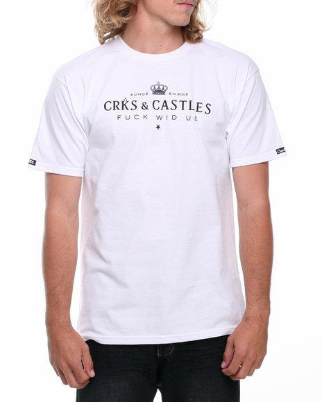 Crooks & Castles - Men White Imperial T-Shirt