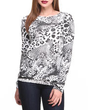 Holiday Gift Ideas - Her - Tiger Print Sweatshirt