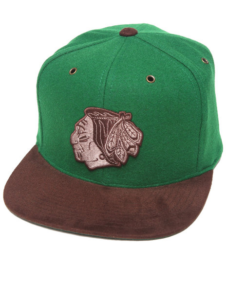Mitchell & Ness Chicago Blackhawks Nhl Vintage / Current Brown Green