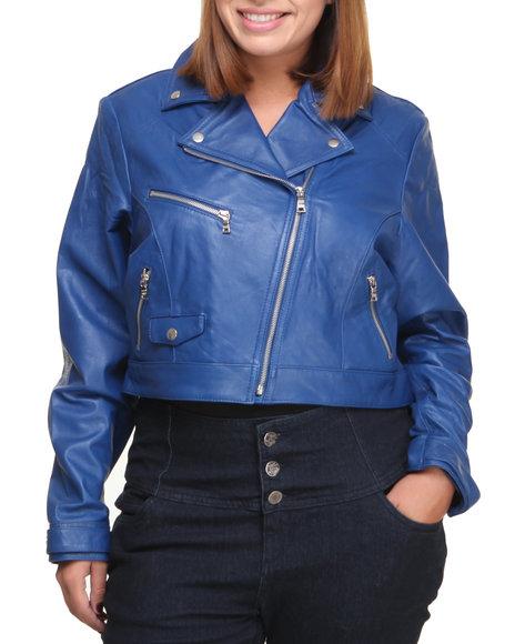 Similar Galleries: Light Blue Leather Jacket Women , Navy Blue Leather