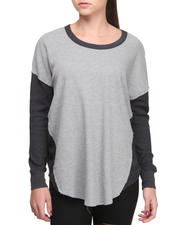 Fashion Lab - Inny Oversized Sporty Raglan Thermal