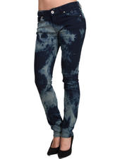 Basic Essentials - Southwestern Denim Skinny Jean