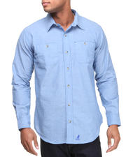 Men - Chambray Two Pocket Button-Down