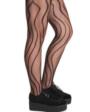 Holiday Shop - Women - Zebra Fishnet Tights
