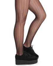 Holiday Shop - Women - Chevron Fishnet Tights