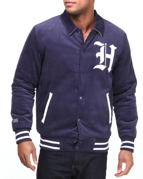 Huf - Men Navy Victor Varsity Jacket