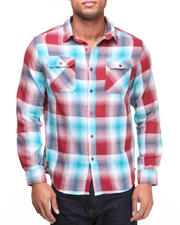 The Skate Shop - Shadow Plaid Flannel L/S Button-down
