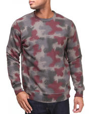 The Skate Shop - Spray Camo Sweat Sweatshirt