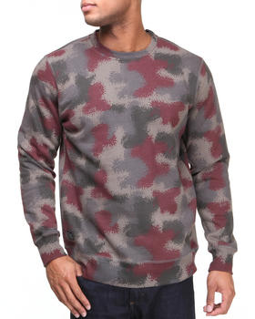 HUF - Spray Camo Sweat Sweatshirt