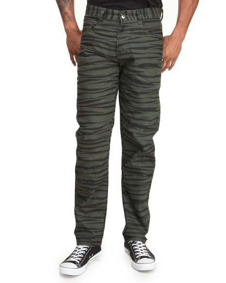 Mo7 Olive Jeans