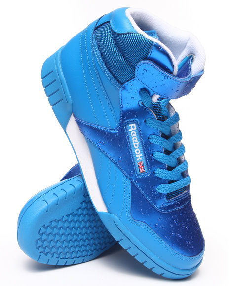 Reebok - Men Blue Rain Pack Exofit Plus Hi R13 Sneakers