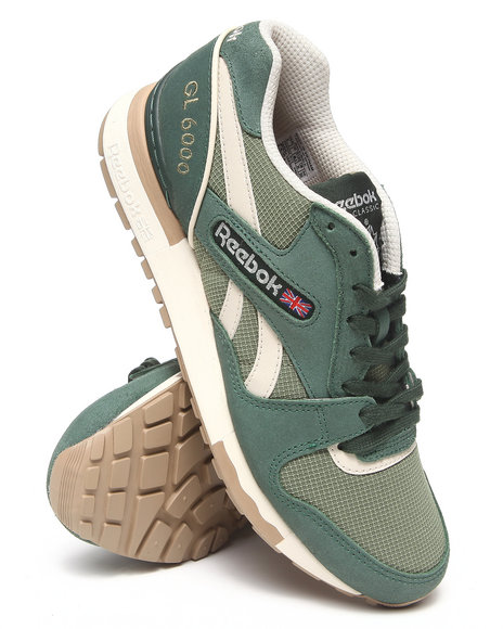 Reebok - Men Green Gl 6000 Sneakers