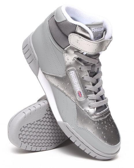 Reebok Grey Rain Pack Exofit Plus Hi R13 Sneakers