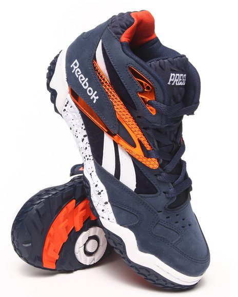 Reebok - Men Navy Scrimmage Mid Sneakers