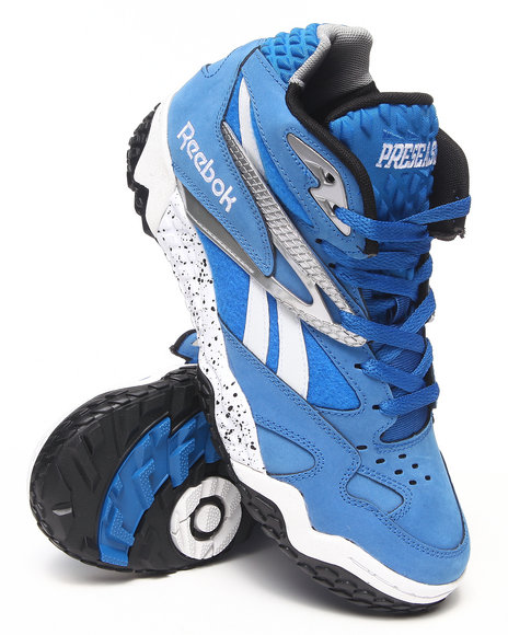 Reebok - Men Blue Scrimmage Mid Sneakers