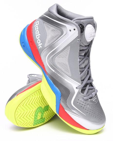Reebok Silver,Silver Pumpspective Omni Sneakers