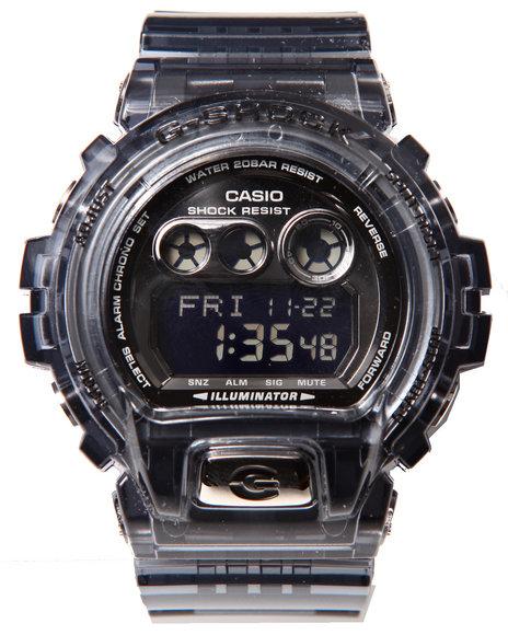 G-Shock By Casio Men 6900 Xl Transparent Watch Clear 1SZ