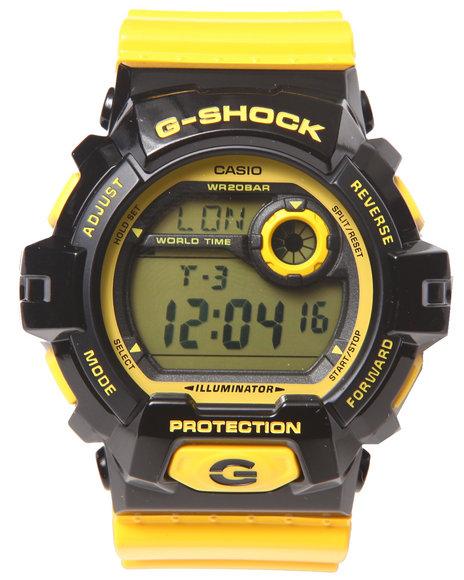 G-Shock By Casio Men G-8900 Crazy Yellow Watch Yellow 1SZ