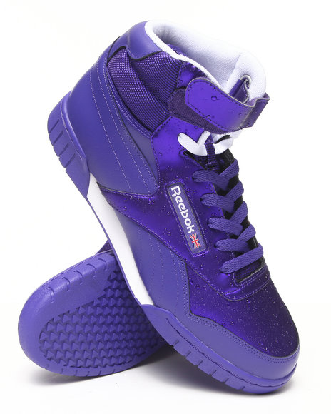 Reebok - Men Purple Rain Pack Exofit Plus Hi R13 Sneakers