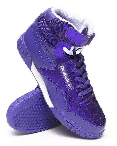 Reebok - Men Purple Rain Pack Exofit Plus Hi R13 Sneakers