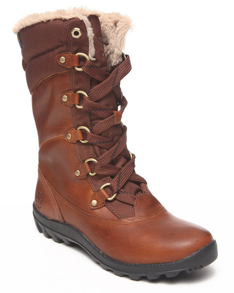 Timberland - Women Tan Ek Mt Hope Lace Up Boots
