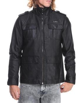 English Laundry - Faux Leather Garment Washed Jacket