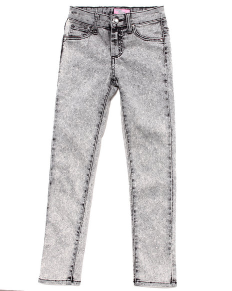 La Galleria Girls Grey Acid Wash Jeans (7-16)