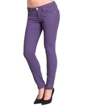 Basic Essentials - Big Grape Skinny Jean