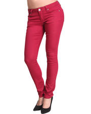 Basic Essentials - Glitter Rush Skinny Jean W/Chrome Rivets