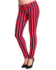 Basic Essentials - Sailor Stripe Skinny Jeans