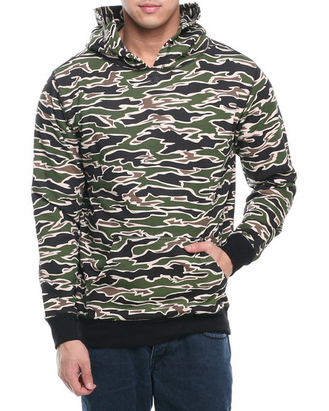 Dope - Men Camo This Means War Pullover Sweatshirt