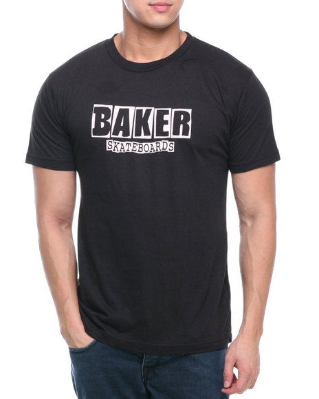 BAKER Black Brand Logo Tee