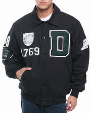 Buyers Picks - Classic Alumni Padded Canvas Ivy League Varsity Jacket