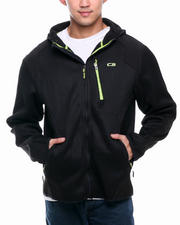 Men - Multi-Fabric Fleece Jacket