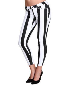 Basic Essentials - Beatle Stripe Skinny Jean