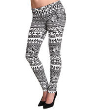 Gifts for Her - Geo Print Skinny Jean Pant