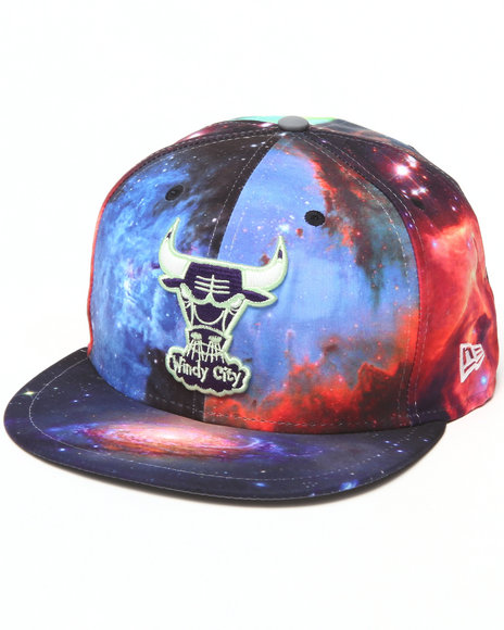 New Era Multi Chicago Bulls Galaxy 5950 Fitted Hat