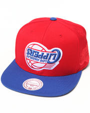 Men - Hall of Fame x Mitchell & Ness Los Angeles Clippers Upside Down Snapback Cap