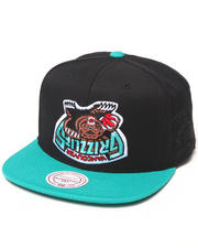 Hall of Fame - Hall of Fame x Mitchell & Ness Grizzlies Upside Down Snapback Cap