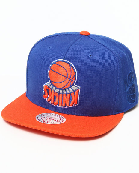 Hall Of Fame X Mitchell & Ness New York Knicks Upside Blue