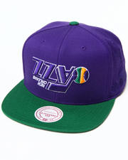 Men - Hall of Fame x Mitchell & Ness Utah Jazz Upside Down Snapback Cap