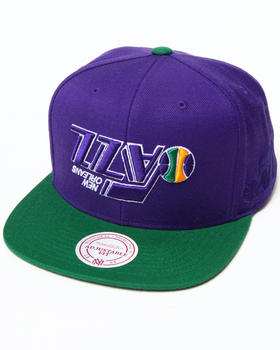 Hall of Fame - Hall of Fame x Mitchell & Ness Utah Jazz Upside Down Snapback Cap