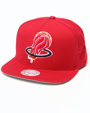Mitchell & Ness - Hall of Fame x Mitchell & Ness Miami Heat Upside Down Snapback Cap