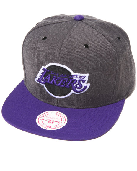 Mitchell & Ness Men Los Angeles Lakers Nba Hwc / Current Dark Heather Grey - $22.99