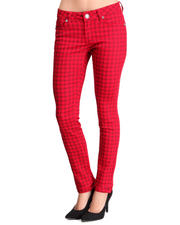 Women - Houndstooth pant