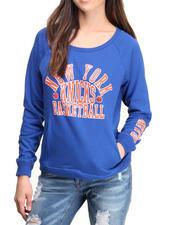 NBA MLB NFL Gear - Knicks Overtime Pullover Sweatshirt