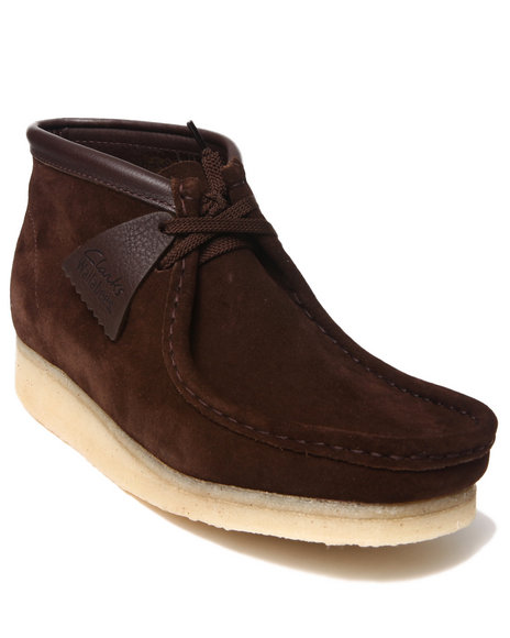 Clarks Brown Wallabee Boots
