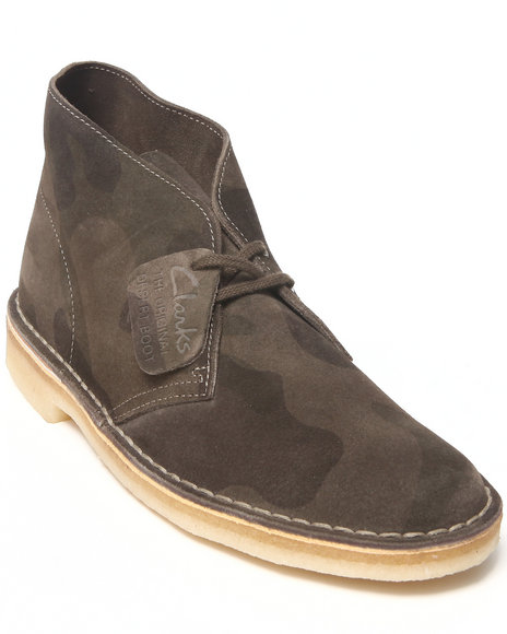 Clarks Camo Boots