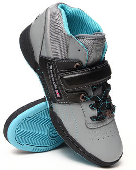 Reebok - Workout Mid Strap Speckled Sneakers